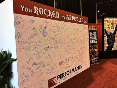 Branded Autograph Wall